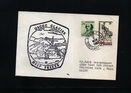 USA 1967 Deep Freeze Operation USCGC Glacier Interesting Polar Cover - Polare Shiffe & Eisbrecher