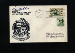USA 1968 Deep Freeze Operation USNS Towle Interesting Polar Cover - Polare Shiffe & Eisbrecher