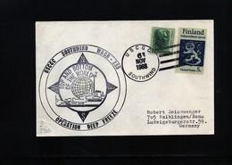 USA 1968 Deep Freeze Operation USCGC Southwind Interesting Polar Cover - Polare Shiffe & Eisbrecher