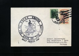 USA 1969 Deep Freeze Operation USCGC Edisto Interesting Polar Cover - Polare Shiffe & Eisbrecher