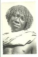"2217 "" A CUNAMA YOUNG MAN "" CARTOLINA POSTALE ORIGINALE NON SPEDITA - Eritrea"