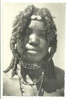 "2218 "" A CUNAMA GIRL "" CARTOLINA POSTALE ORIGINALE NON SPEDITA - Eritrea"