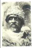 "2219 "" A NOTABLE TIGRIN MAN "" CARTOLINA POSTALE ORIGINALE NON SPEDITA - Eritrea"