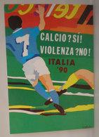 World Cup '90 Cagliari Gruppo F  Cartolina Calcio 1990 - Fútbol