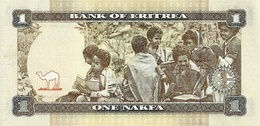 ERITREA P. 13 1 N 2015 UNC - Eritrea