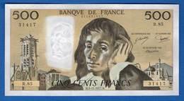 500 Fr  Du  3/11/1977  R 85 - 1962-1997 ''Francs''