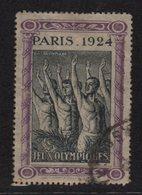 Vignette - Jeux Olympiques - Paris 1924 - Commemorative Labels