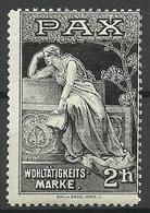 Germany Ca 1910 Wohltätigkeitsmarke PAX Charity Wohlfahrt * - Vignetten (Erinnophilie)