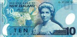 NEW ZEALAND 10 DOLLARS ND (2007) P-186b UNC  [NZ132f] - New Zealand