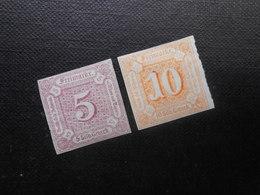 Mi 18/19  5/10Sgr*MLH - Altdeutschland (Thurn Und Taxis) 1859 - Mi 8,00 € - Thurn And Taxis