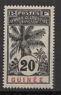 Guinée - 1906 - N°Yv. 38 - Palmier 20c - Neuf Luxe ** / MNH / Postfrisch - Neufs
