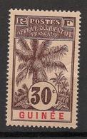 Guinée - 1906 - N°Yv. 40 - Palmier 30c - Neuf Luxe ** / MNH / Postfrisch - Neufs