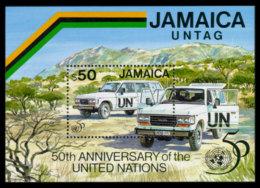 Jamaica, 1995, United Nations 50th Anniversary, MNH, Michel Block 46 - Jamaique (1962-...)