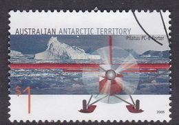 Australian Antarctic Territory  S 163 2005 Aviation $ 1.00 Pilatus PC-6 Used - Australian Antarctic Territory (AAT)