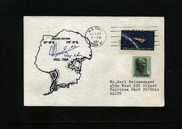 USA 1964 Hallett Station Antarctica Interesting Polar Cover - Forschungsstationen