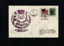 USA 1967 Mc Murdo Sound Antarctica Interesting Polar Cover - Forschungsstationen