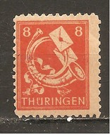Alemania-Germany  Thuringe Nº Yvert  13 (MNH/**) - Sowjetische Zone (SBZ)