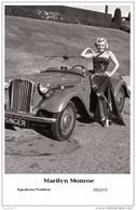 MARILYN MONROE - Film Star Pin Up PHOTO POSTCARD- Publisher Swiftsure 2000 (201/272) - Postales