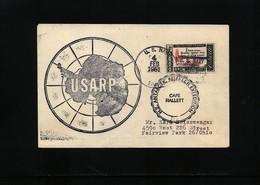 USA 1961 USARP Cape Hallet Antarctica Interesting Polar Cover - Forschungsstationen