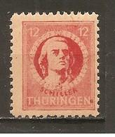 Alemania-Germany  Thuringe Nº Yvert  14 (MNH/**) - Sowjetische Zone (SBZ)