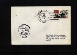 USA 1964 USS Staten Island Interesting Polar Cover - Polare Shiffe & Eisbrecher