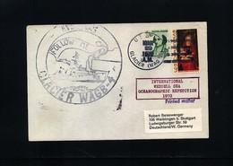 USA 1970 International Weddell Sea Oceanographic Expedition USCGC Glacier Interesting Polar Cover - Antarktis-Expeditionen