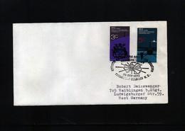 New Zealand 1972 Antarctic Treaty Meeting Interesting Polar Cover - Events & Gedenkfeiern