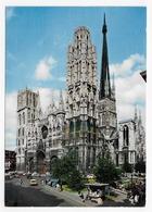 ROUEN - N° 761/501 - LA CATHEDRALE AVEC CITROEN DS - CPSM GF NON VOYAGEE - Rouen