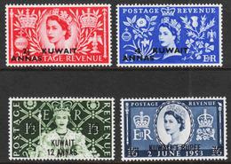 Kuwait - Scott #113-16 MH (1) - British Protectorate - Kuwait