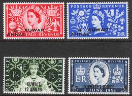 Kuwait - Scott #113-16 MH (2) - British Protectorate - Kuwait