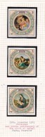 Cook Islands -Aitutaki SG 474MS  1983 Christmas Set 3 Miniature Sheets MNH - Cook Islands