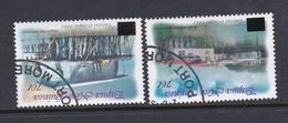 Papua New Guinea SG 1001-1002 2004 Coastal Villages Overprinted Used - Papouasie-Nouvelle-Guinée