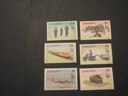 ZIMBABWE - 1990 MEZZI  6 VALORI - NUOVI(++) - Zimbabwe (1980-...)