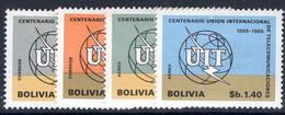 Bolivia 1968 ITU Unmounted Mint. - Bolivia