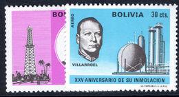 Bolivia 1971 Obligatory Tax Unmounted Mint. - Bolivia