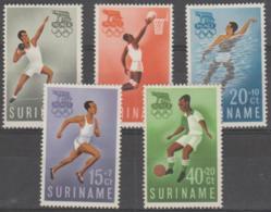 SURINAM - 1960 Olympic Games. Scott B75-79. MNH ** - Surinam ... - 1975