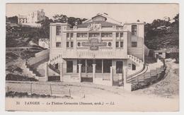 1256/ TANGER. Teatro Cervantes / Théâtre Cervantès.- CPA / Postal Antigua.- Non écrite. Unused. No Escrita. Non Scritta. - Tanger