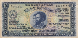 Ethioia 2 Thalers 1933 - Ethiopie