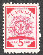 Latvia - Scott #18 MH - Lettonie