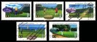 Canada (Scott No.1553-57 - Golf)+ (o) Série / Set - NOTE / B/B - 1952-.... Règne D'Elizabeth II