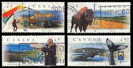 Canada (Scott No.1780-83 - Scenic Highway - 3) (o) Set - 1952-.... Règne D'Elizabeth II
