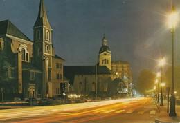 Annecy - La Place De L'Hotel-de-Ville. Clocher De L'Eglise Saint-Francois Et Clocher De L'Eglise Saint-Maurice - Annecy