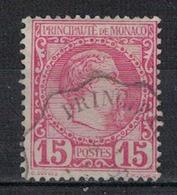 MONACO          N°  YVERT    5 ( 7 )    OBLITERE - Monaco