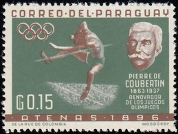 PARAGUAY - Scott #736 Athens 1896 Olympic Games Site / Mint NH Stamp - Summer 1896: Athens