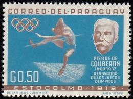 PARAGUAY - Scott #740 Stockholm 1912 Olympic Games Site / Mint NH Stamp - Summer 1912: Stockholm