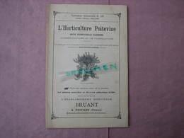 Bruant Poitiers Catalogue 1896 N°229 L'Horticulture Poitevine ,les Plantes Nouvelles Et Diverses, Coll. Délite - B. Flower Plants & Flowers