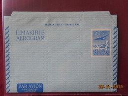 Aerogramme De Finlande - Postwaardestukken