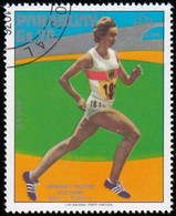 PARAGUAY - Scott #1704 Montréal '76 Olympic Games, Running / Used Stamp - Summer 1976: Montreal