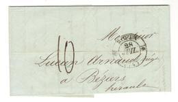 13295 - ROUEN Type  12 - Marcophilie (Lettres)
