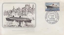 Enveloppe  FRAMEXPHIL   Exposition  Philatélique   PAQUEBOT   FRANCE     LE  HAVRE   1967 - Philatelic Exhibitions